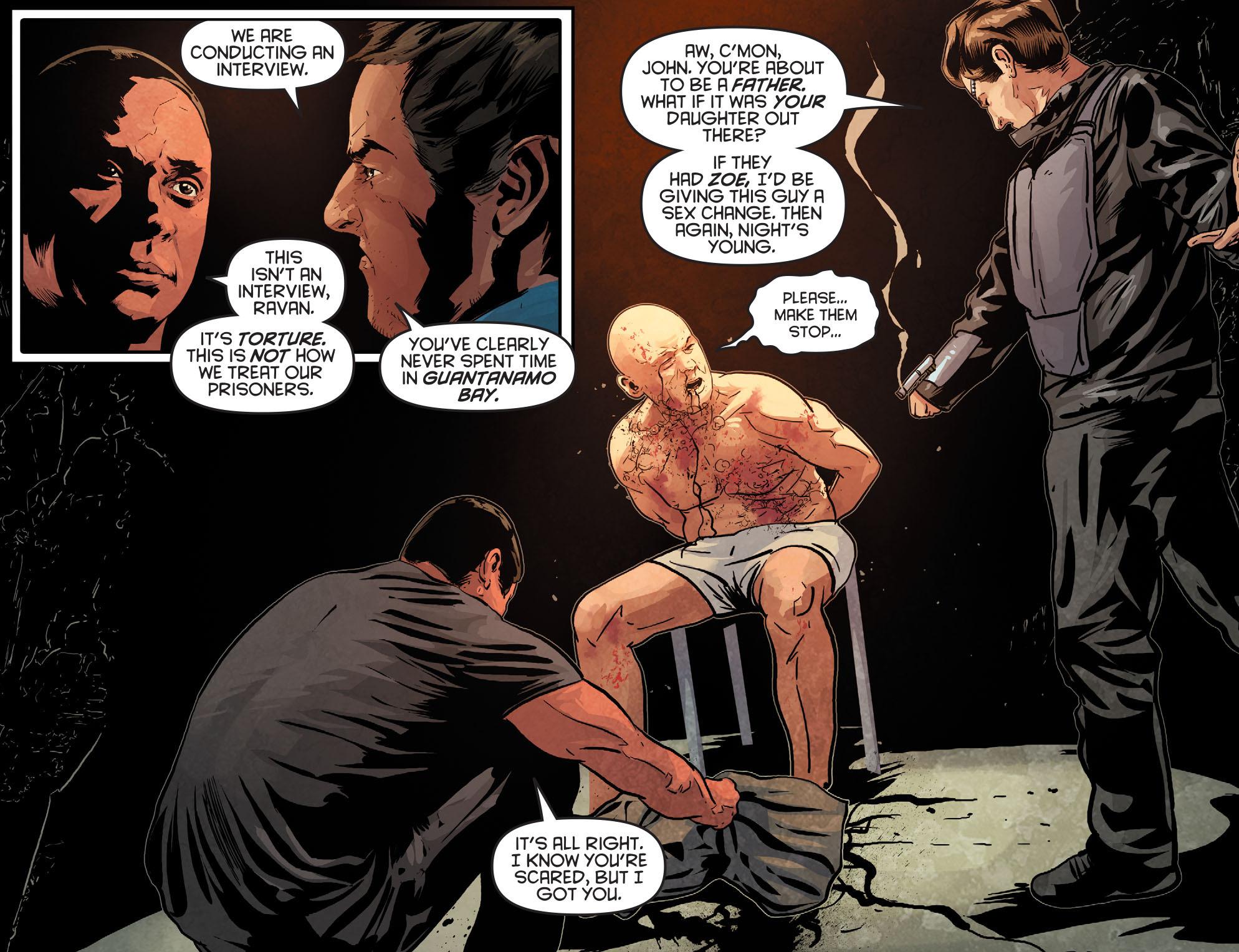 Read online Arrow: Season 2.5 [I] comic -  Issue #12 - 6