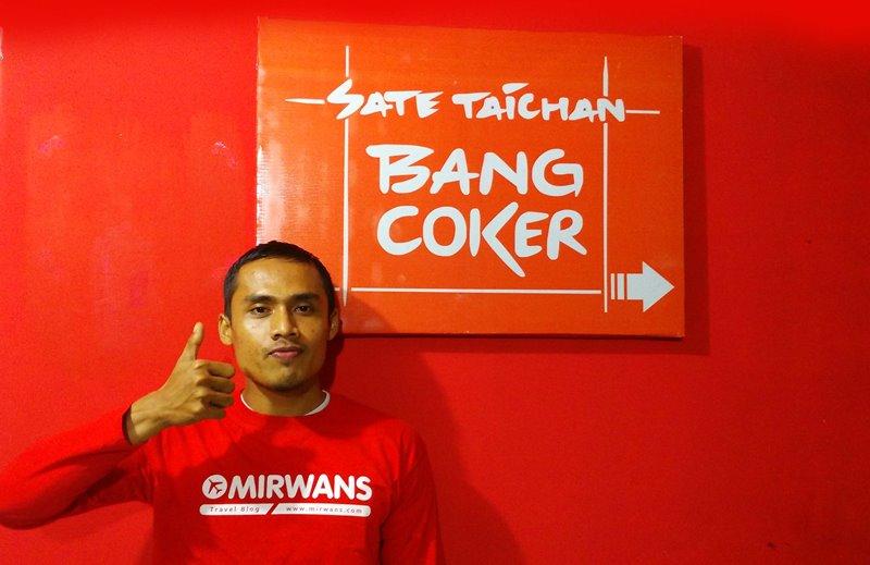 Sate Taichan Bang Coker