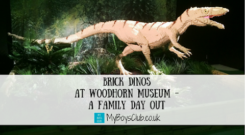 Brick Dinos at Woodhorn Museum – A Family Day Out (REVIEW)