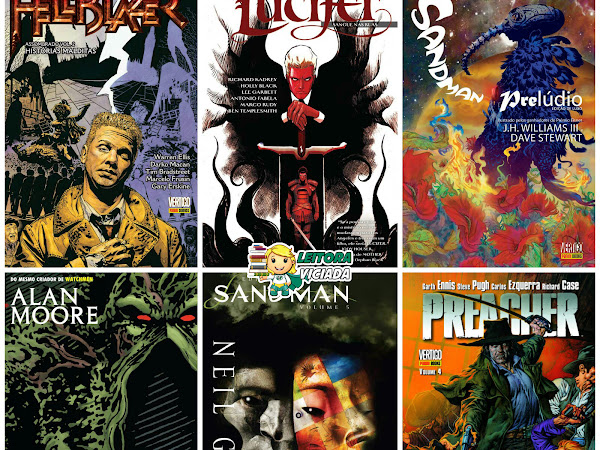 Lançamentos e novidades: Panini Comics - Vertigo (DC Comics)
