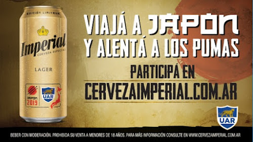 Viajá a Japón a alentar a Los Pumas con Cerveza Imperial #RWC2019