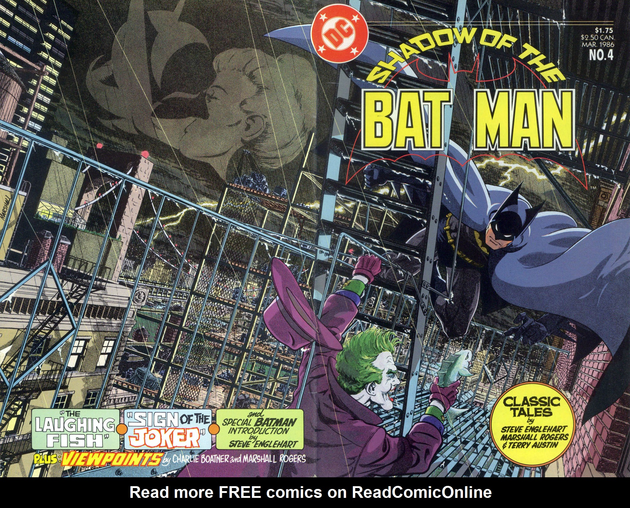 Read online Shadow of the Batman comic -  Issue #4 - 2
