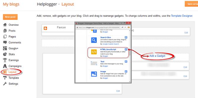 Cách Thêm Popup Facebook Like Box Widget cho blogspot