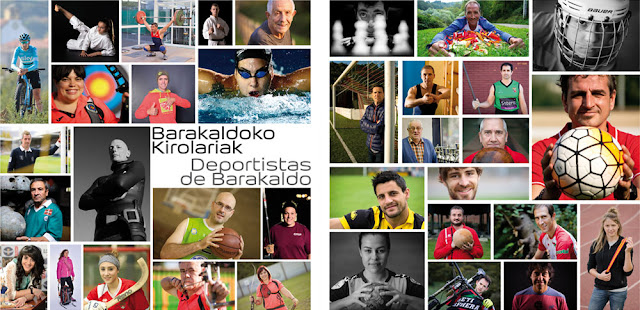 exposición de retratos de deportistas barakaldeses