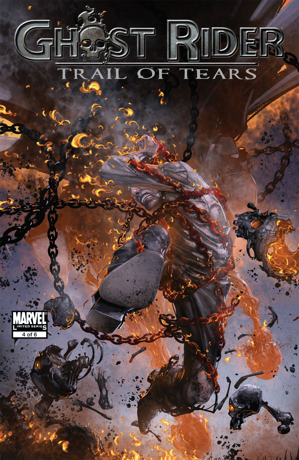 Read online Ghost Rider: Trail of Tears comic -  Issue #4 - 1