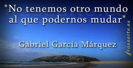 Frases célebres Gabriel García Márquez