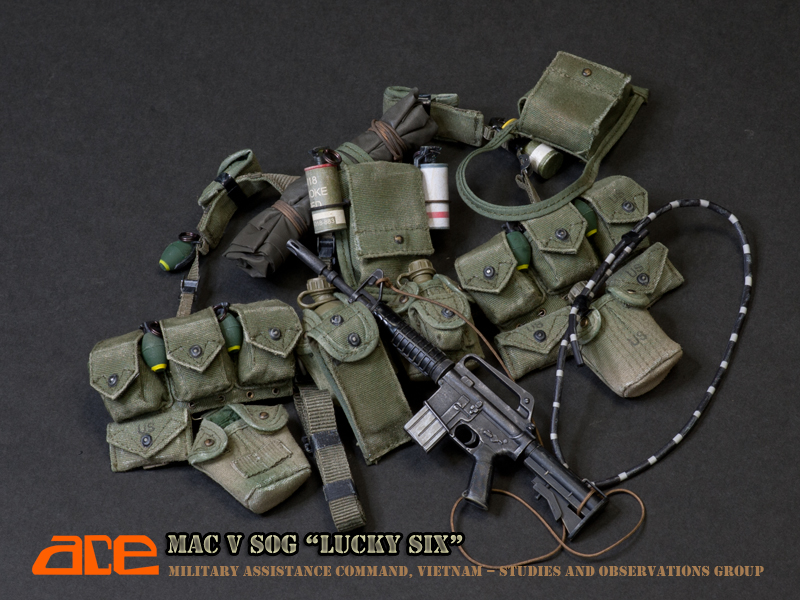 """Pre-order Ace 1/6 scale MACV SOG """" Lucky six"""" 12"""