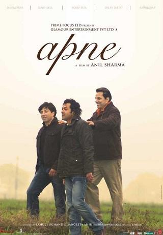 Apne 2007 Hindi 1GB DVDRip 720p