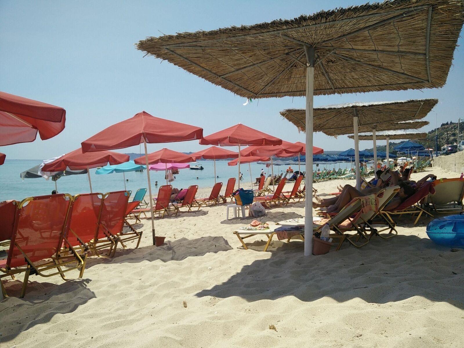 Lourdas beach Kefalonia