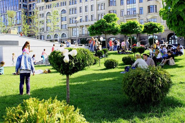 Зелёная зона Почтовой площади