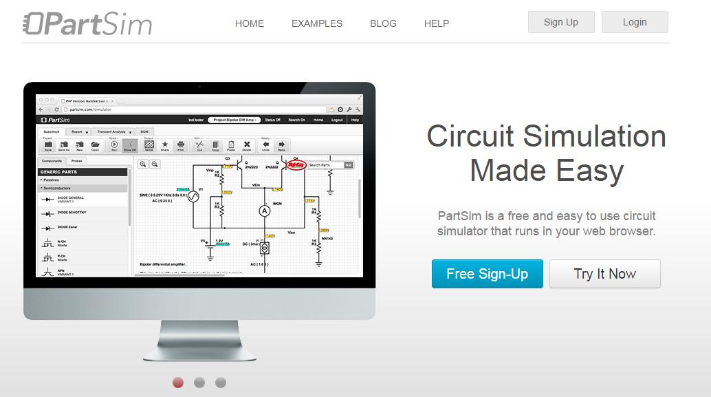 PartSim : Circuit Simulator