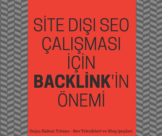 Site Dışı Seo Çalışması İçin Backlink'in Önemi