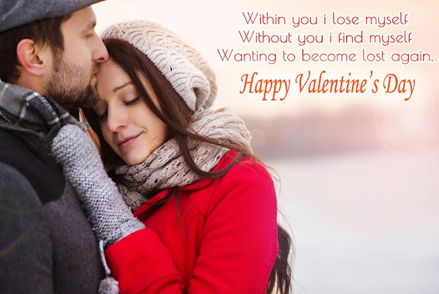 valentine message for wife