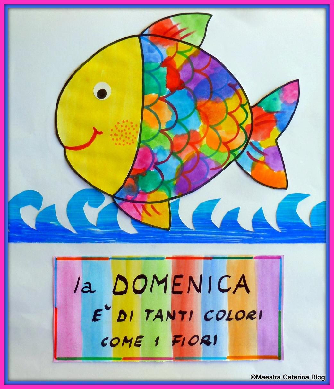 Maestra caterina filastrocche della settimana 3 post for Pesciolini da colorare per bambini