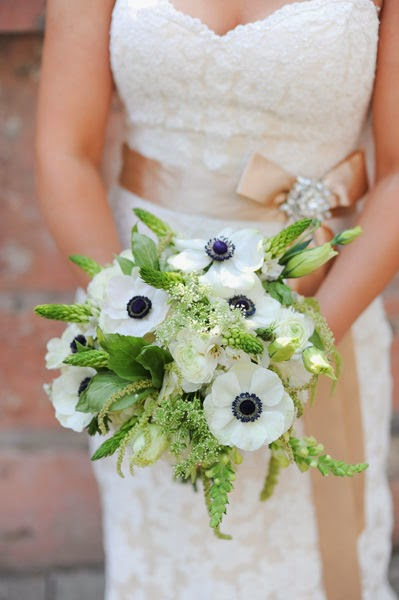 Anemone Flower Bouquet|http://refreshrose.blogspot.com/