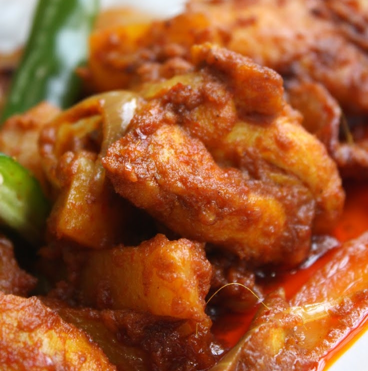 Spicy Curry Chicken : Indian Recipe ~ asiadeli