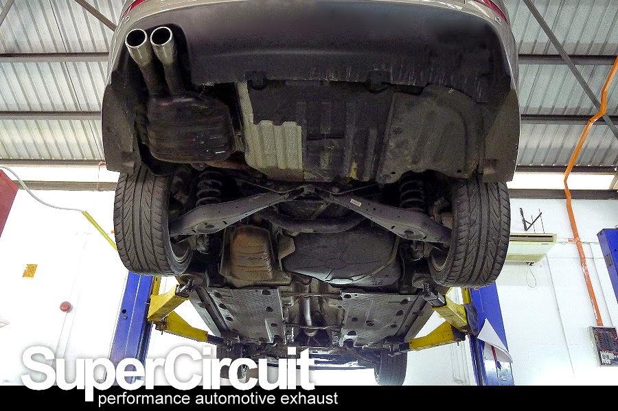 supercircuit exhaust pro shop