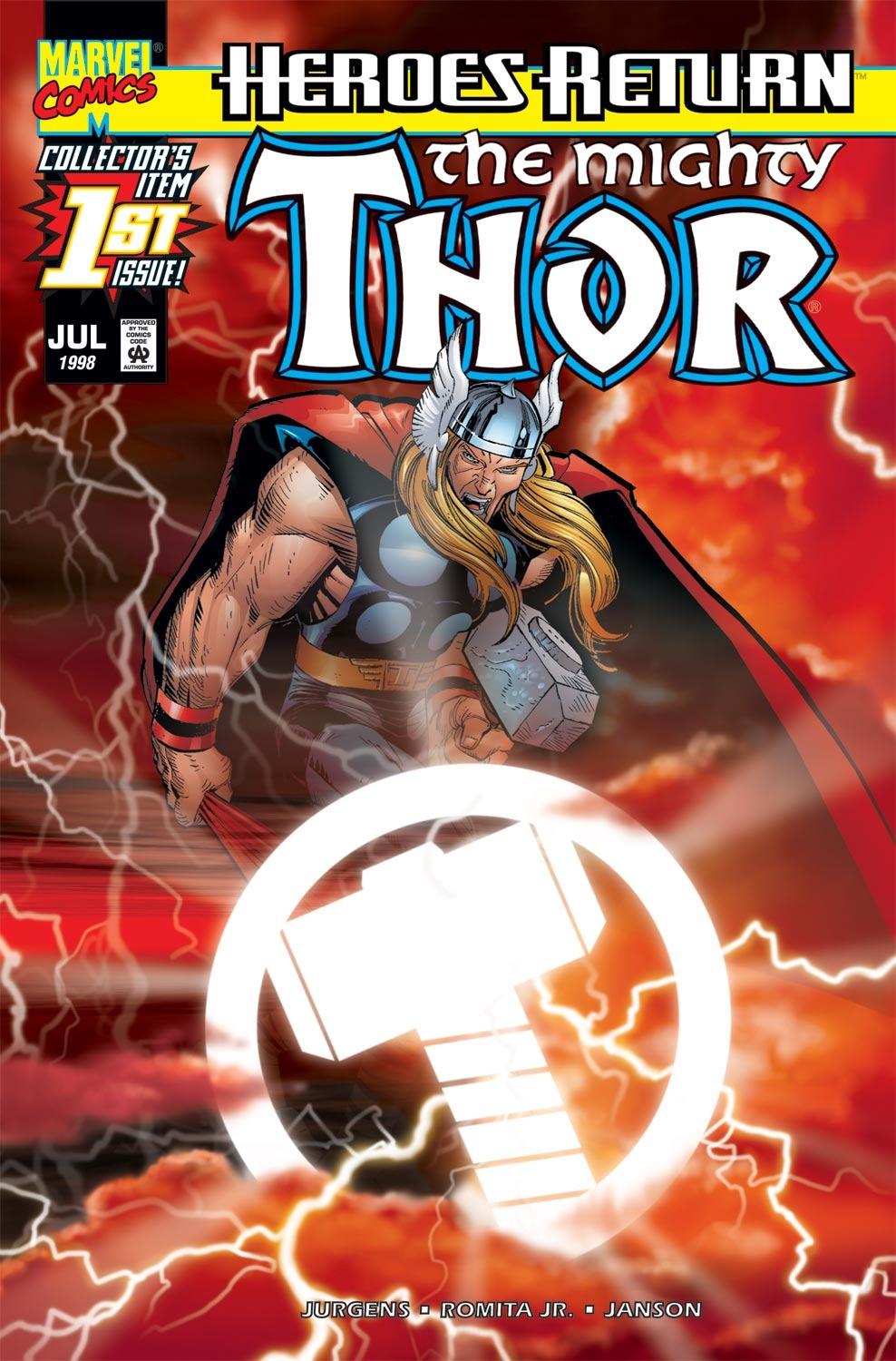 Thor (1998) Issue #1 #2 - English 1