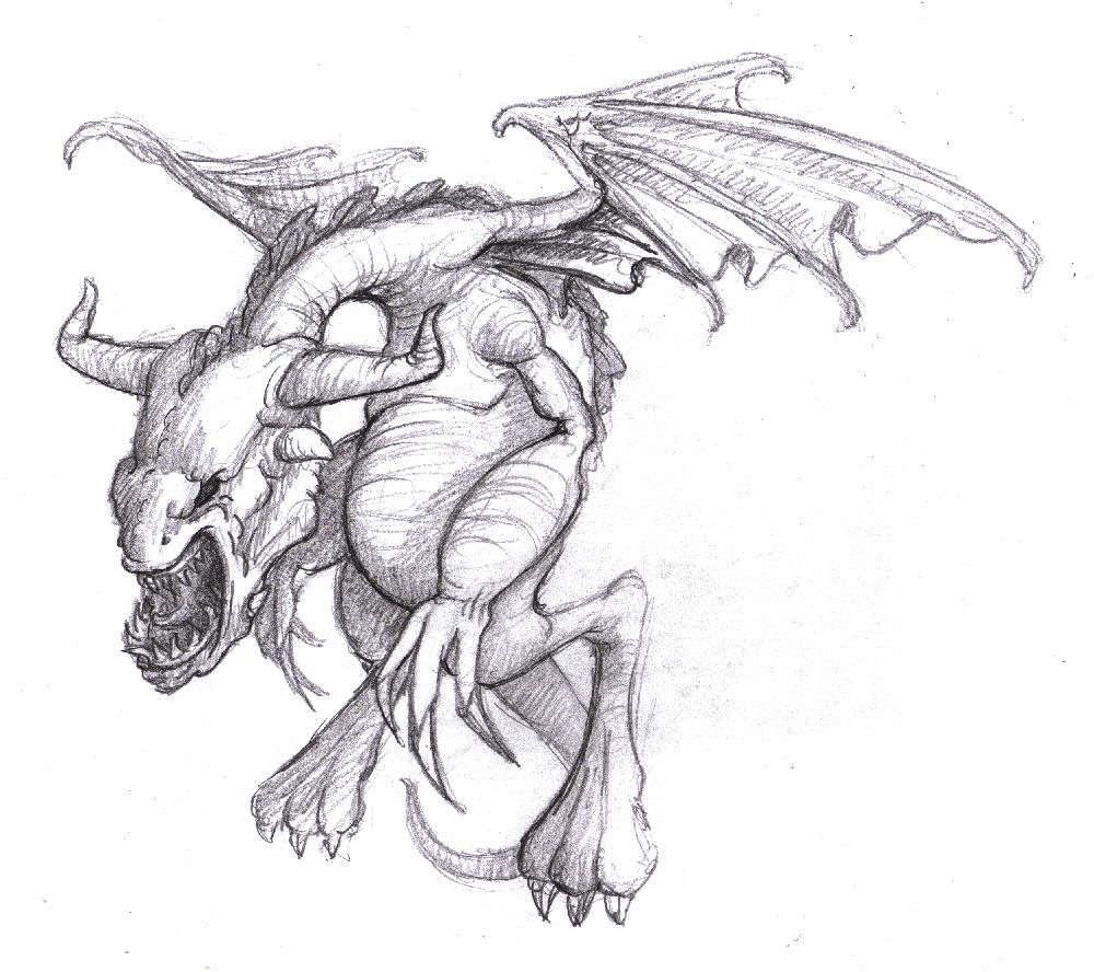 Magellin . Blog: A dragon drawing