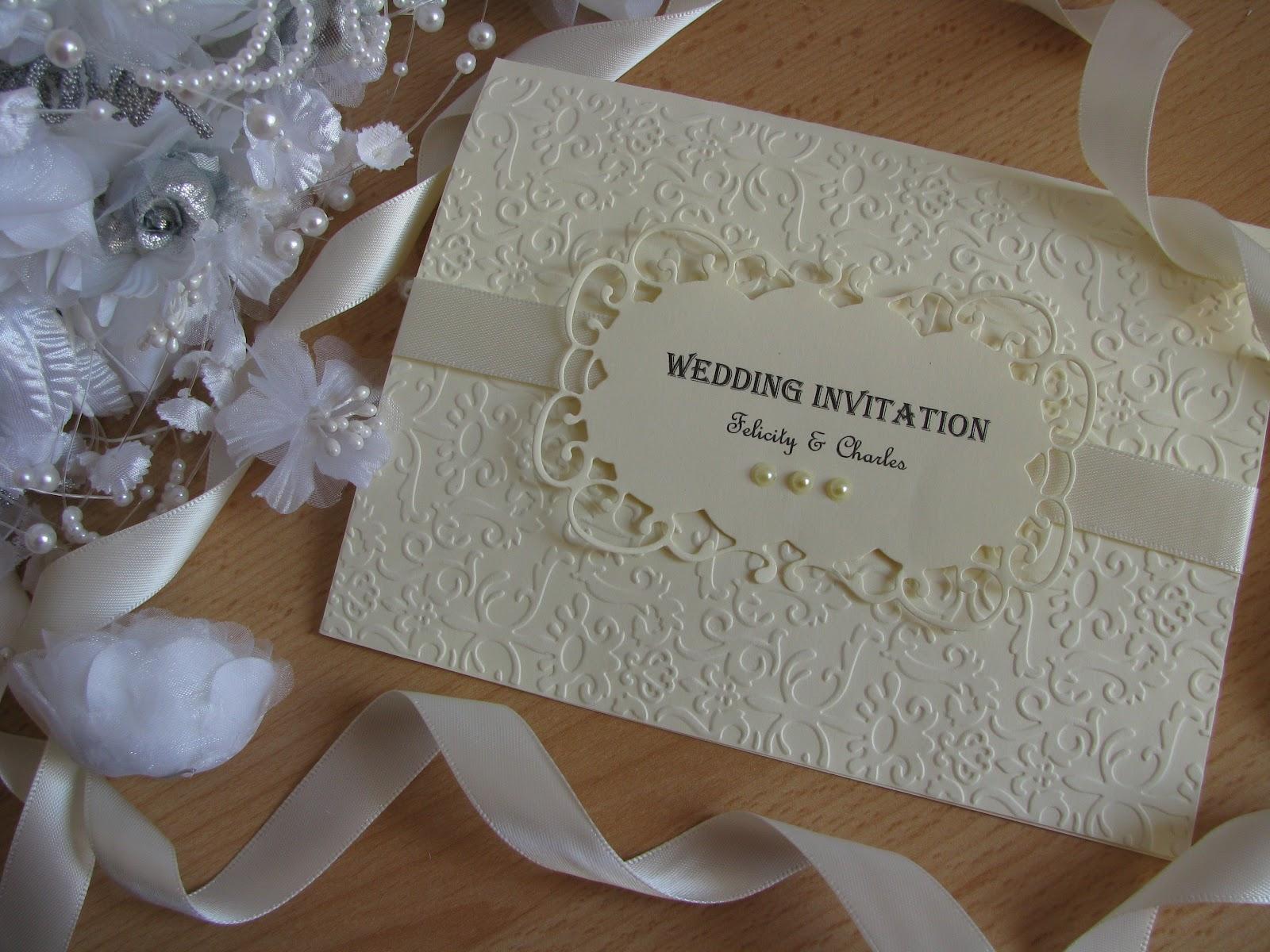 Wedding Invitations Handmade Ideas: Casamento Vintage!