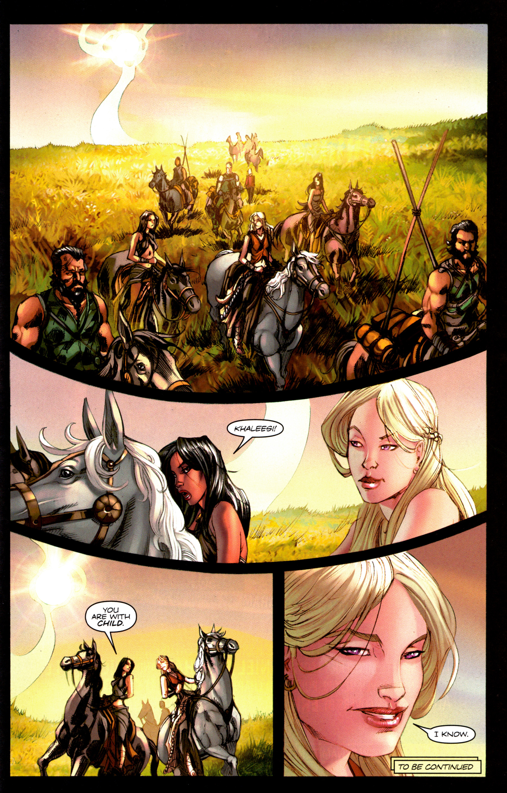 Read online A Game Of Thrones comic -  Issue #6 - 31