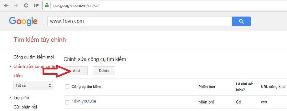 Tạo trang công cụ tìm kiếm chuyên nghiệp và đơn giản với Google Custom