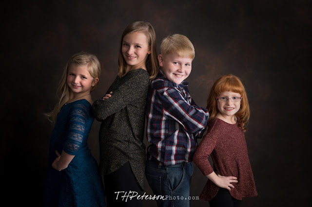 Fun Christmas Session with Paityn, Jenna, Sidney and Grant