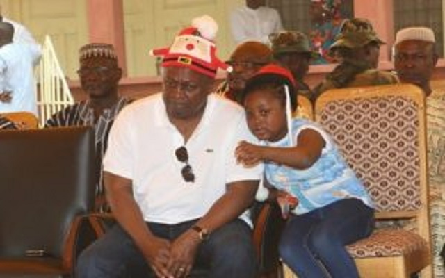 JM Toaso: God will make it happen - Mahama's 8yr old daughter