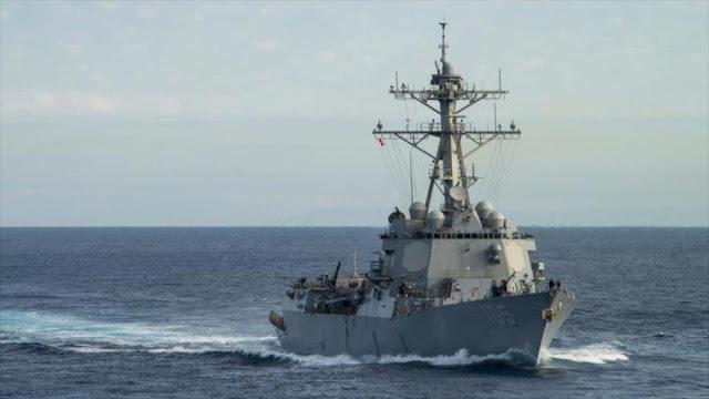 EEUU envía dos destructores a la región Indo-Pacífico