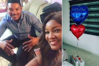 Omotola & hubby mark 22nd Wedding anniversary