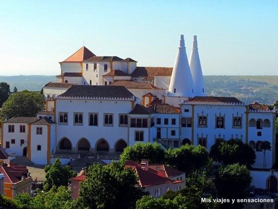 El Palacio Nacional de Sintra, Portugal