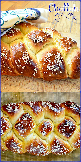 This challah has just the right sweetness, makes a huge loaf that your family will love and is so easy to make. Trust me!