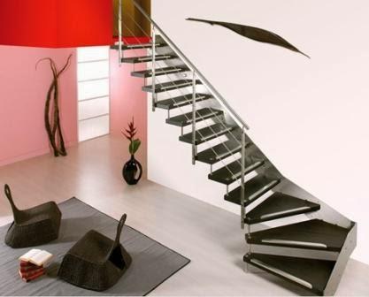 inspirasi model tangga rumah minimalis