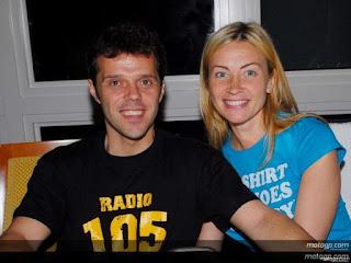 Loris Capirossi And Wife Ingrid