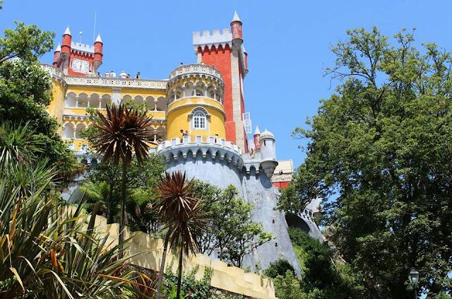 Sintra+palazzo+portogallo