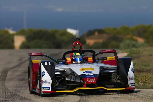 Nuevo auto de Audi en la Formula E