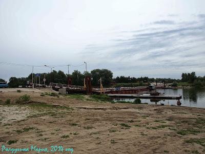 Воронежская область пантонный мост