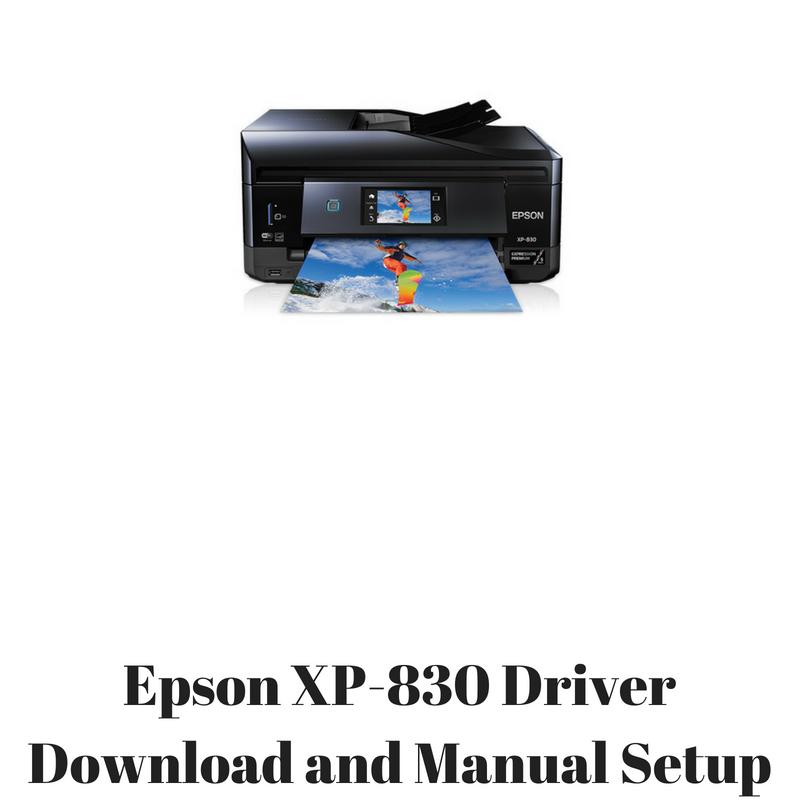 epson xp 830 drivers