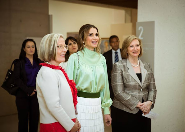 Queen Rania are on an official visit to Australia upon an invitation from Australia's Governor General Peter Cosgrove