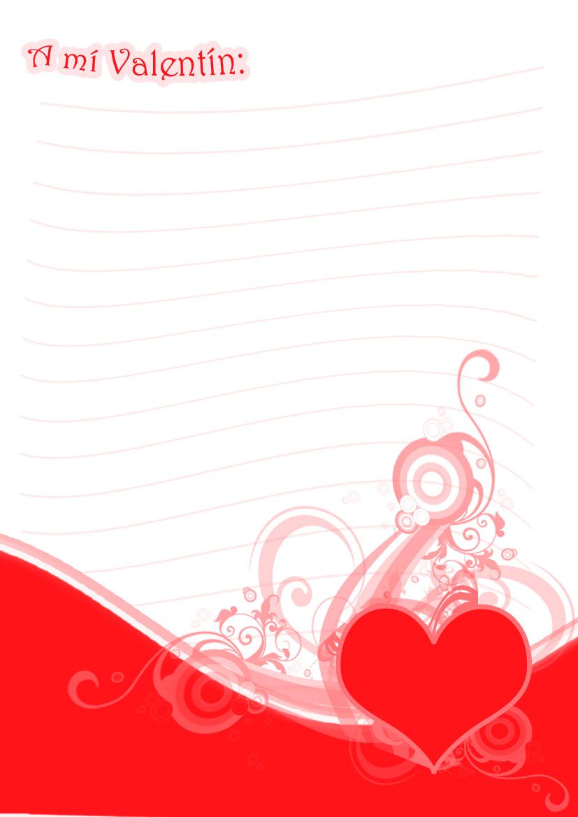 Fondos Para Cartas De Amor En Word