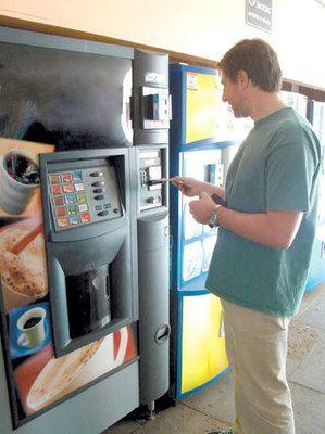 cafea de la automat