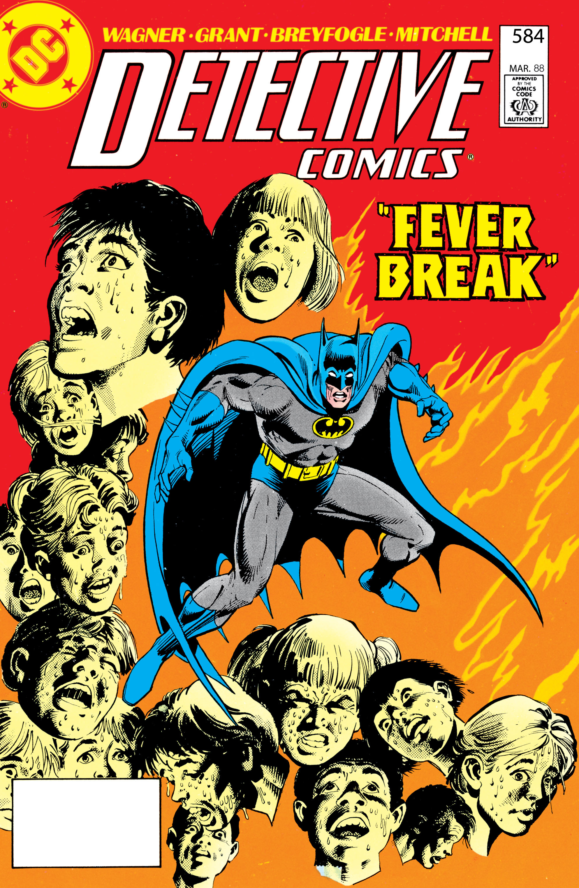 Detective Comics (1937) 584 Page 0