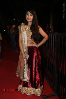 Actress Vennela Stills in Lehenga Choli at Gemini TV Puraskaralu 2016 Event  0050.JPG