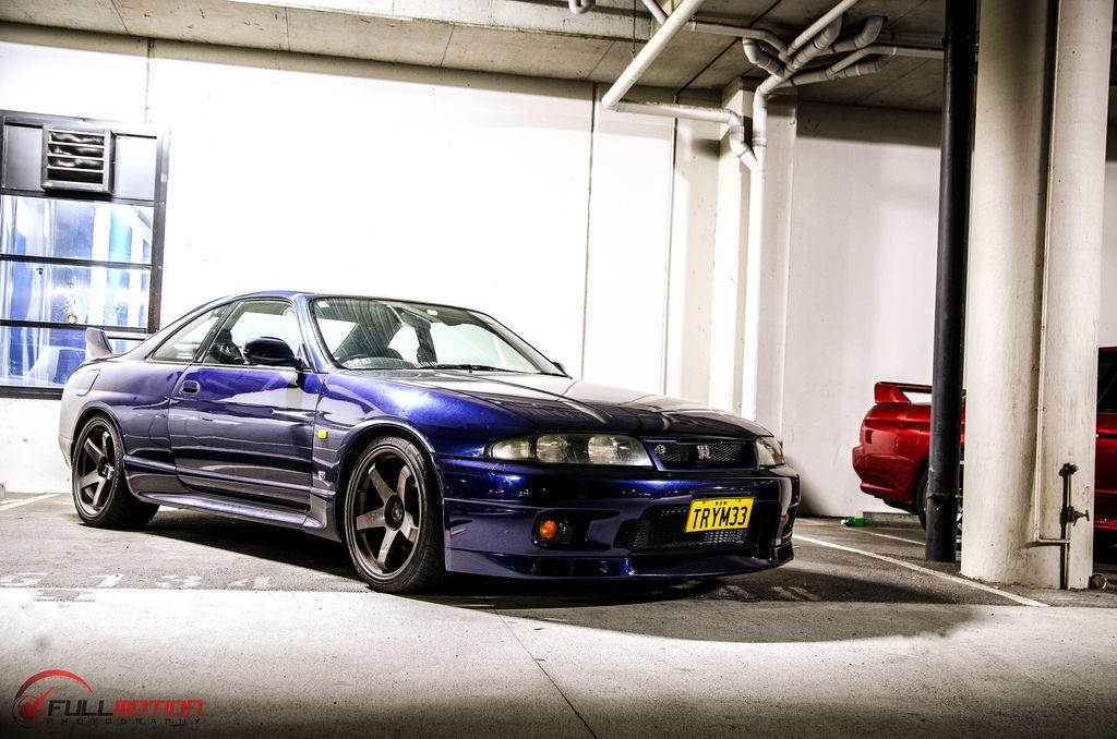 lowered, niskie, obniżone, sportowe, zawieszenie, jdm, Nissan Skyline R33 GT-R