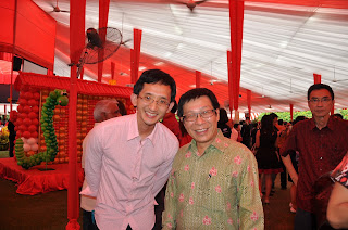 Yuantai and minister Mah Bow Tan