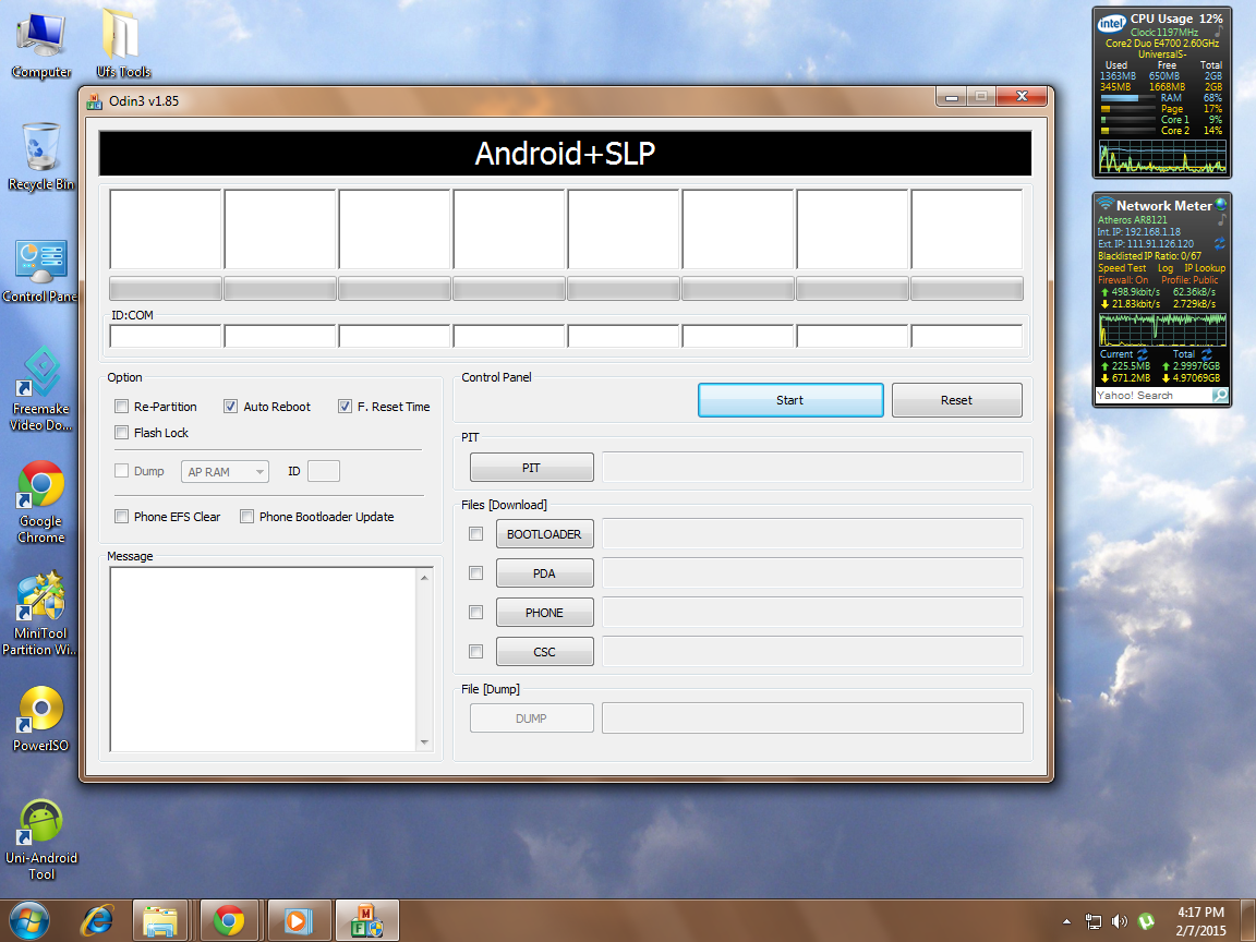 How to flash S5830i