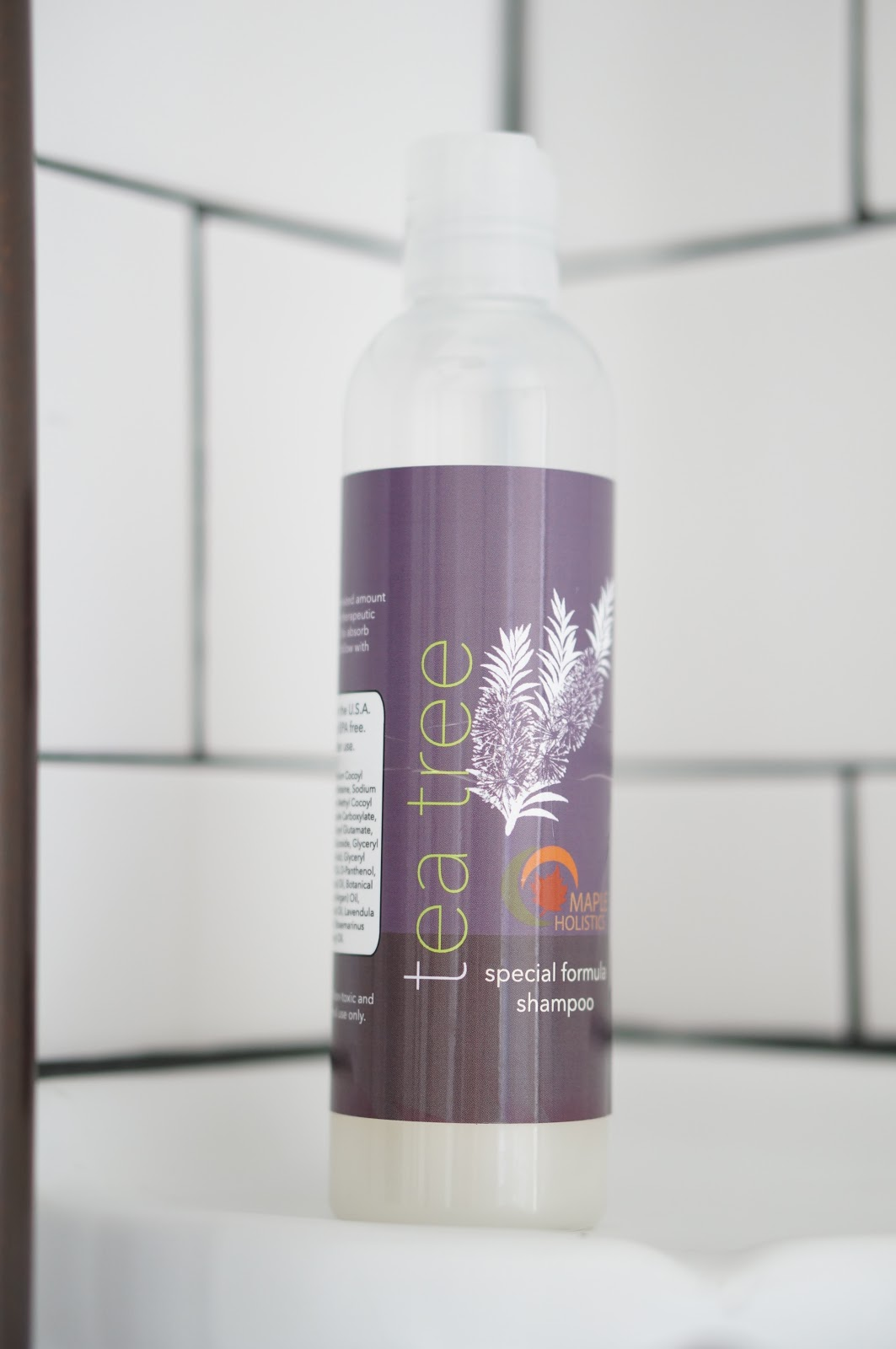 Rebecca Lately Cruelty Free Beauty Maple Holistics Tea Tree Oil Shampoo Review