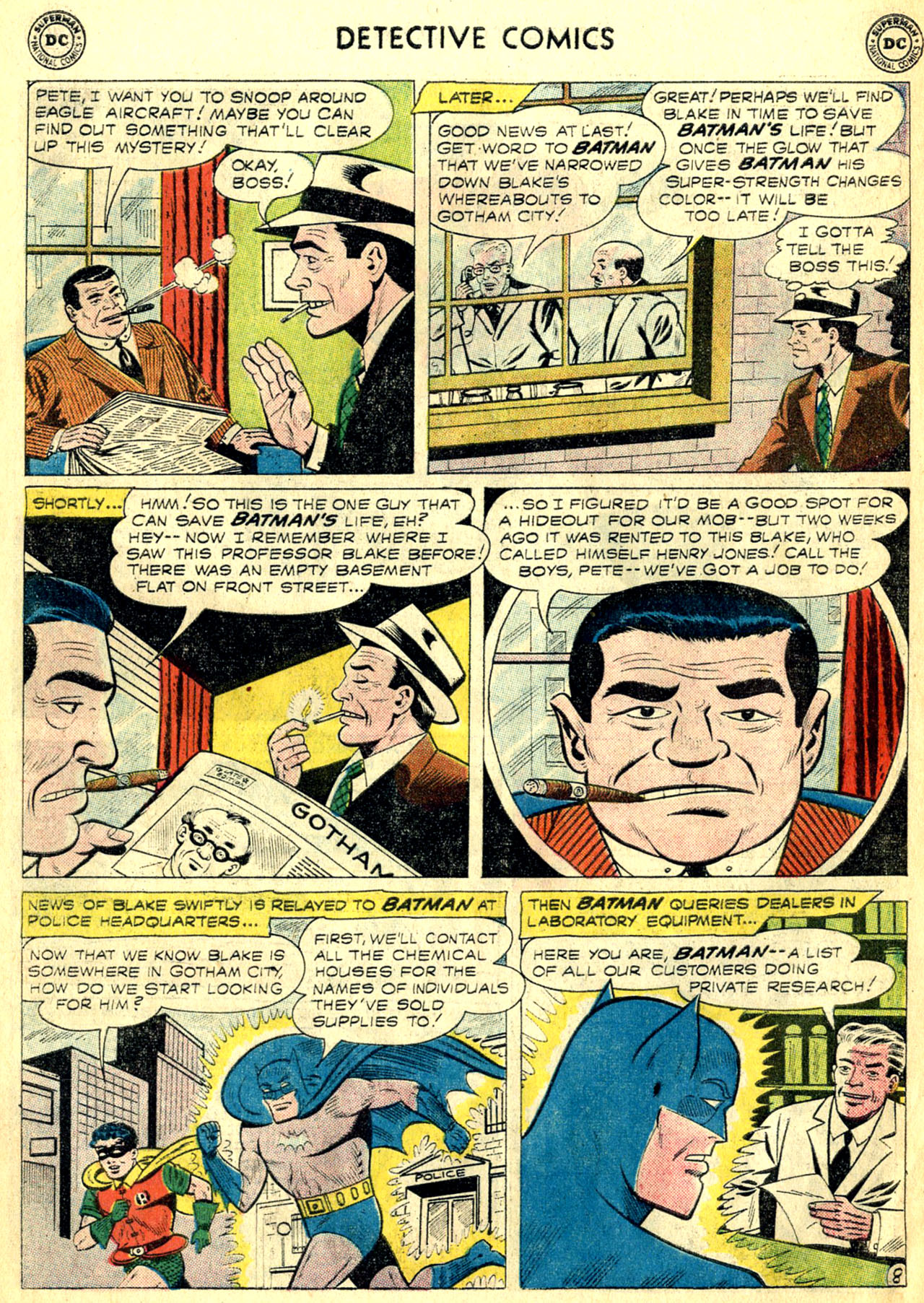 Read online Detective Comics (1937) comic -  Issue #268 - 10