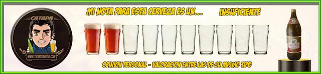 Valoración Cerveza EL ÁGUILA NEGRA