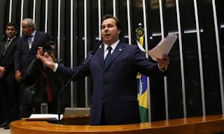Rodrigo Maia (DEM-RJ) é o novo presidente da Câmara dos Deputados